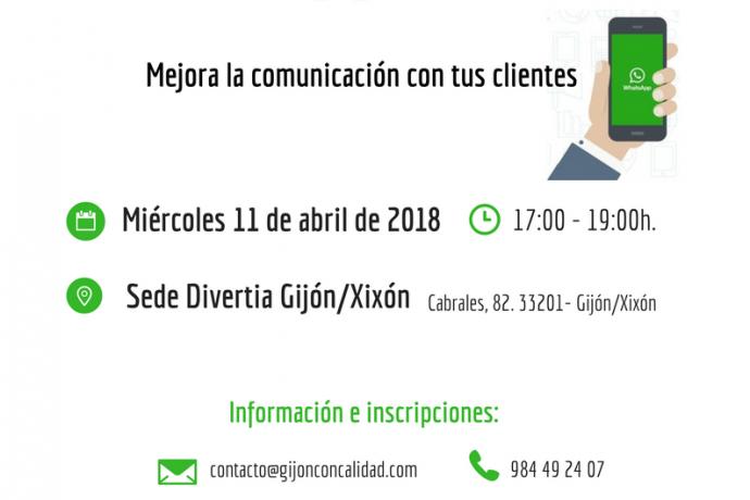 """Jornada  """"WhatsApp Bussines. Mejora la comunicación con tus clientes"""""""