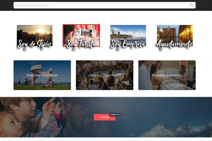 La ciudad estrena nueva página web