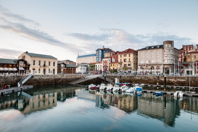 Declarada la alerta naranja en Gijón