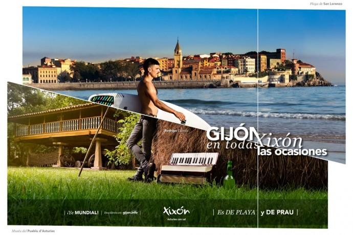 Gran impacto de las campañas de publicidad de Gijón/Xixón Turismo